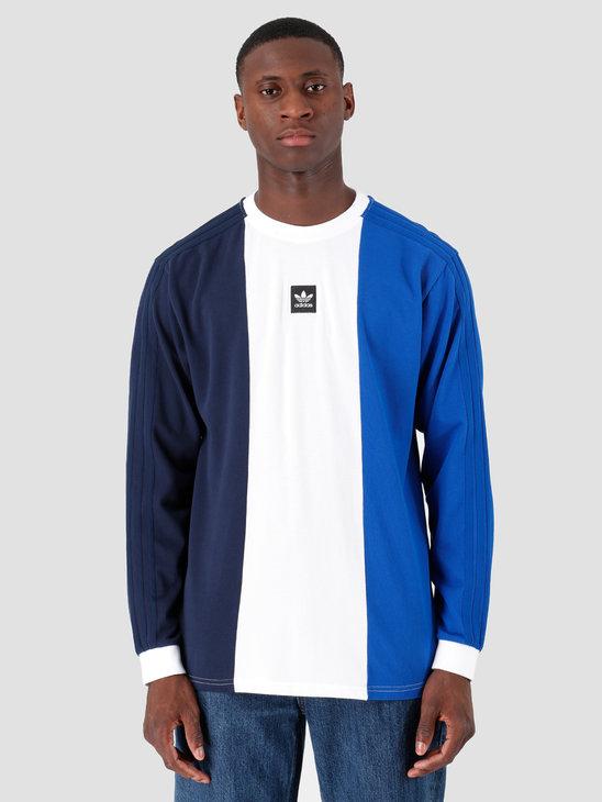 adidas Tripart T-Shirt Navy White Croyal EC7357