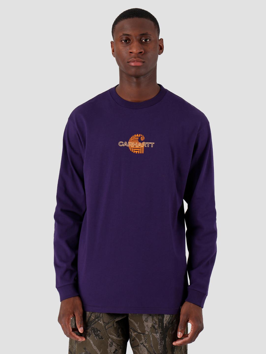 Carhartt WIP Carhartt WIP Longsleeve Mind Shirt Royal Violet I027082