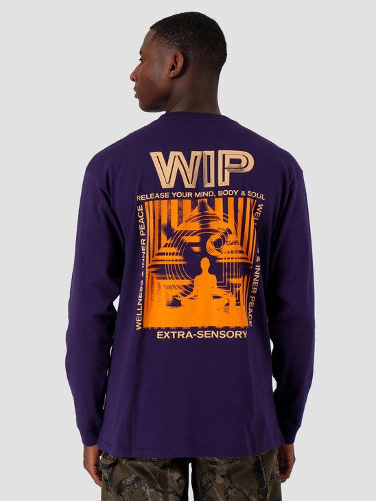 Carhartt WIP Longsleeve Mind Shirt Royal Violet I027082