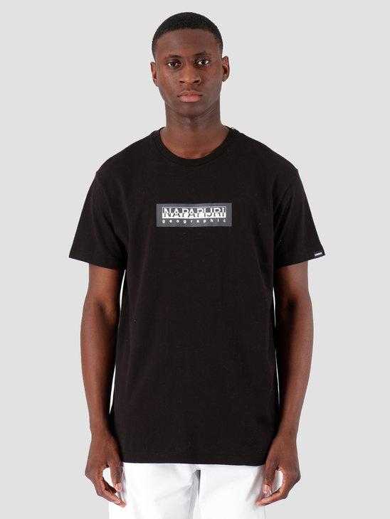 NAPAPIJRI The Tribe Sox T-Shirt Black N0YKBS041