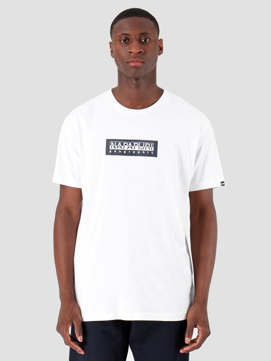 NAPAPIJRI The Tribe Sox T-Shirt Bright White N0YKBS002