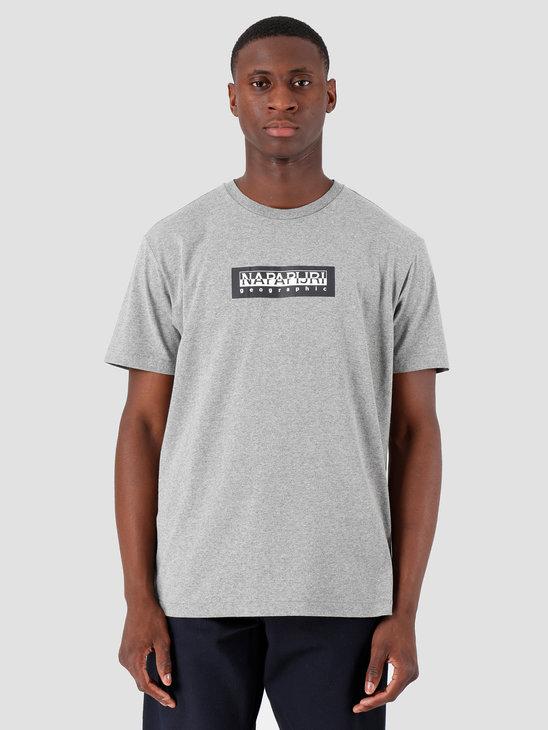 NAPAPIJRI The Tribe Sox T-Shirt Med Grey Mel N0YKBS160