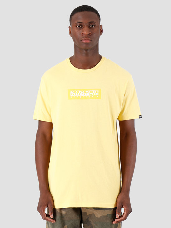 NAPAPIJRI The Tribe Sox T-Shirt Yellow Sunshine N0YKBSY21