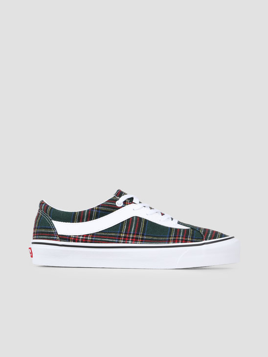 Vans UA Bold Ni Plaid Plaid Green True White VN0A3WLPV8B1