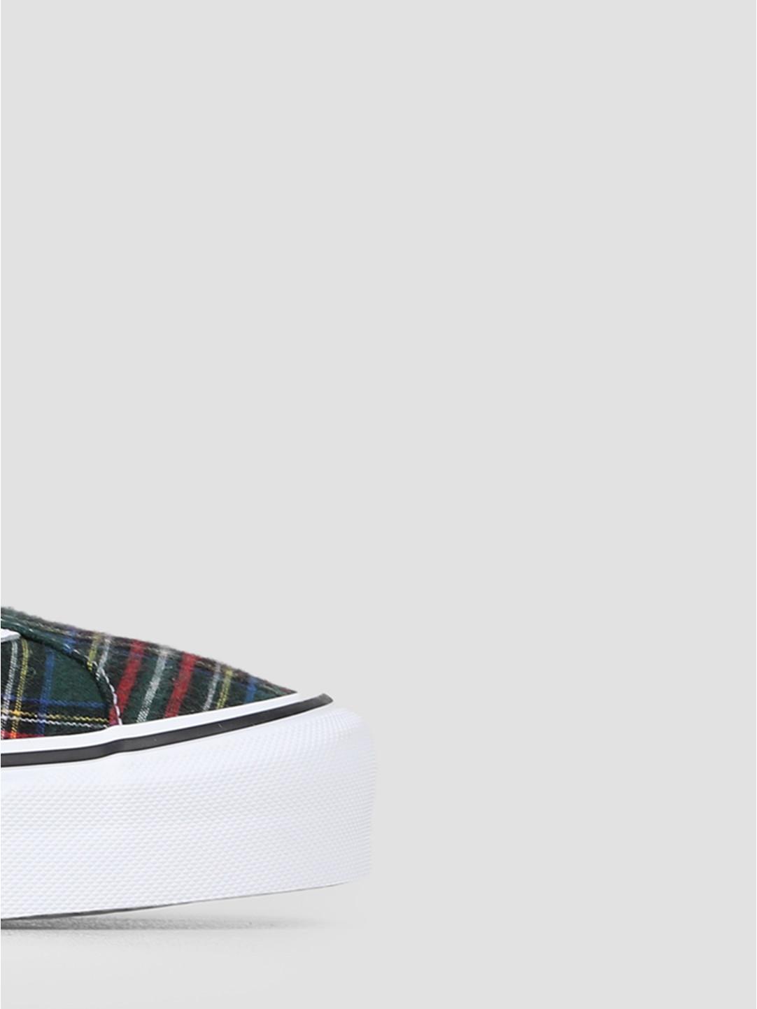 Vans Vans UA Bold Ni Plaid Plaid Green True White VN0A3WLPV8B1