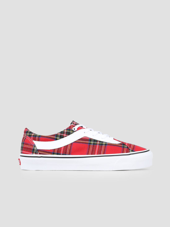 Vans UA Bold Ni Plaid Plaid Red True White VN0A3WLPV8C1