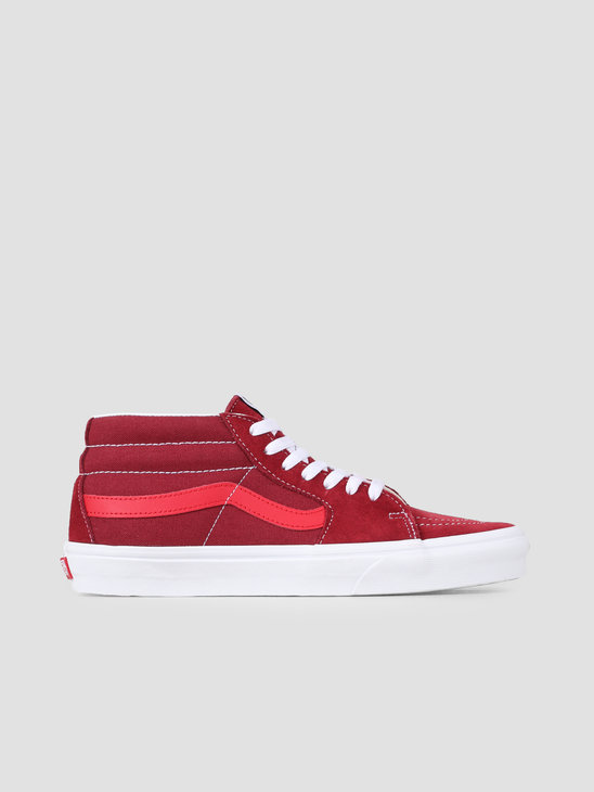 Vans UA Sk8-Mid Retro Sport Biking Red Poinsettia VN0A3WM3VXZ1