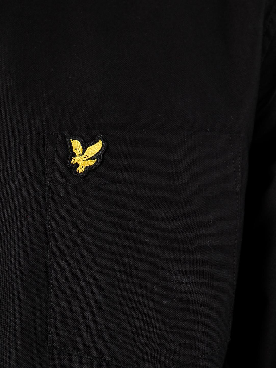 Lyle and Scott Lyle and Scott Oxford Shirt 572 True Black LW614VTR