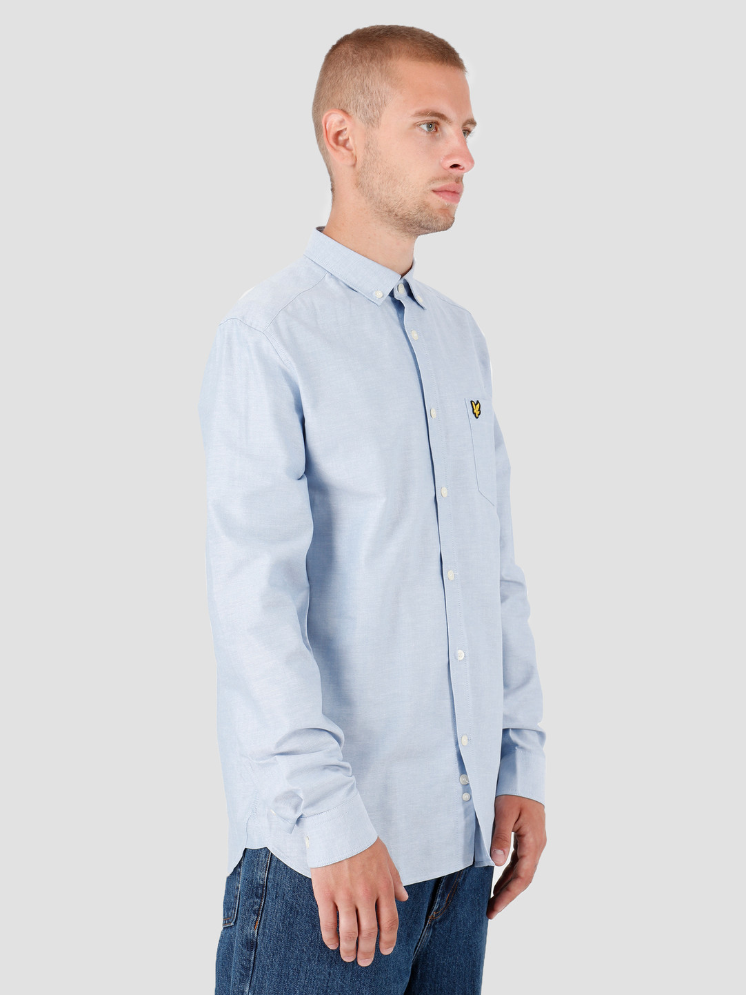 Lyle and Scott Lyle and Scott Oxford Shirt X41 Riviera LW614VTR