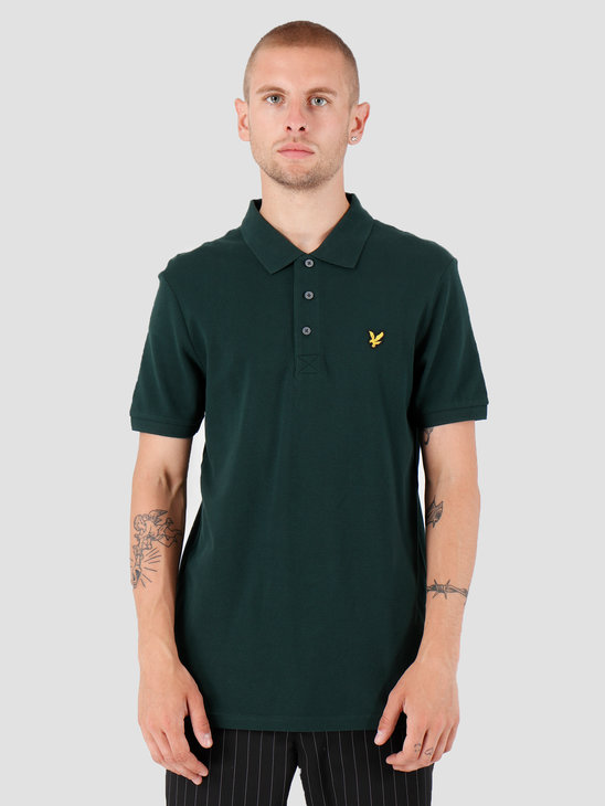 Lyle and Scott Polo Shirt Z597 Jade Green SP400VTR