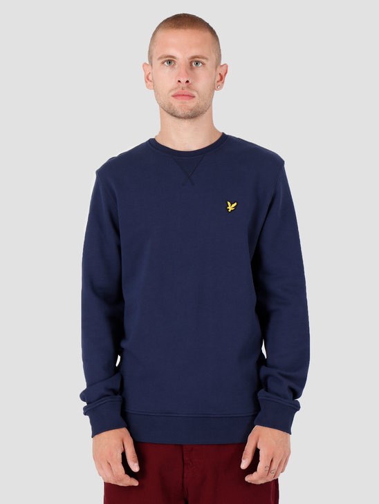 Lyle and Scott Crew Neck Sweatshirt Z99 Navy ML424VTR