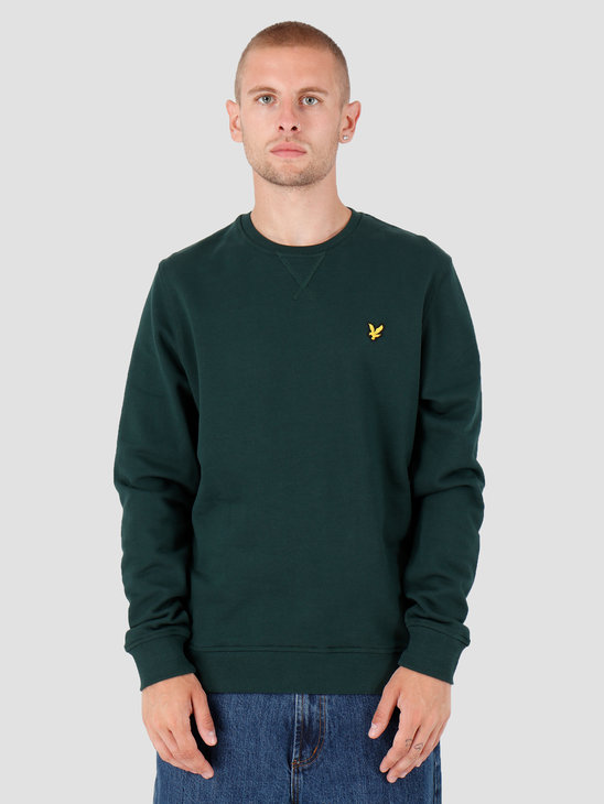 Lyle and Scott Crew Neck Sweatshirt Z597 Jade Green ML424VTR