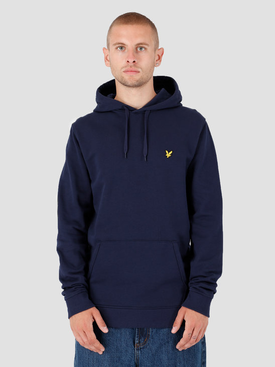 Lyle and Scott Pullover Hoodie Z99 Navy ML416VTR