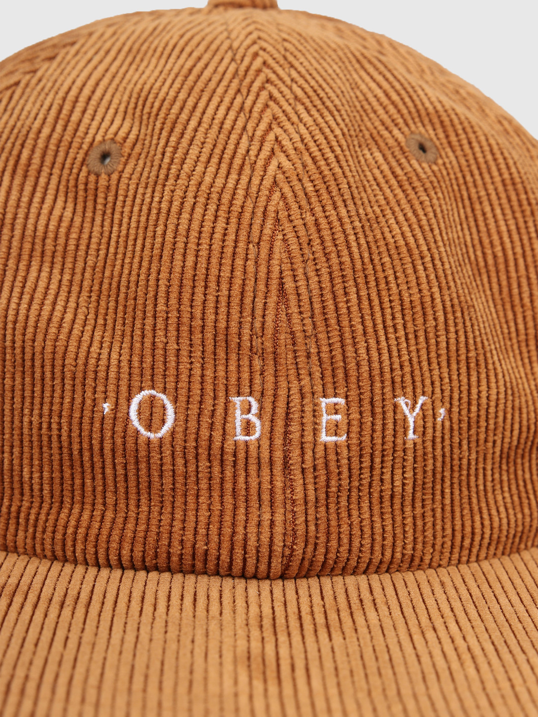 Obey Obey Approach 6 Panel Strapback Tapenade 100580206-TAP
