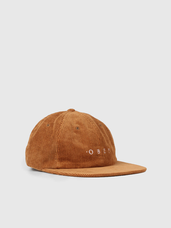 Obey Approach 6 Panel Strapback Tapenade 100580206-TAP