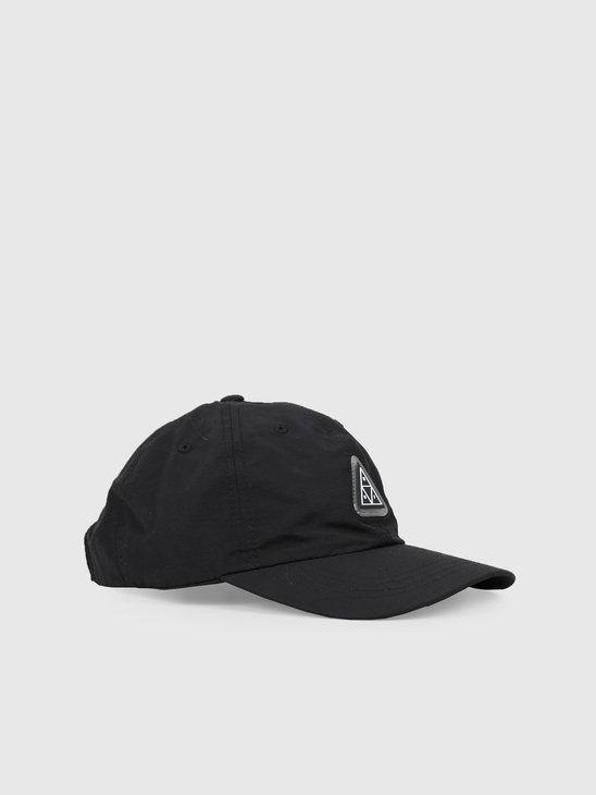 HUF Aurora Cv 6 Panel Hat Black HT00384-BLACK