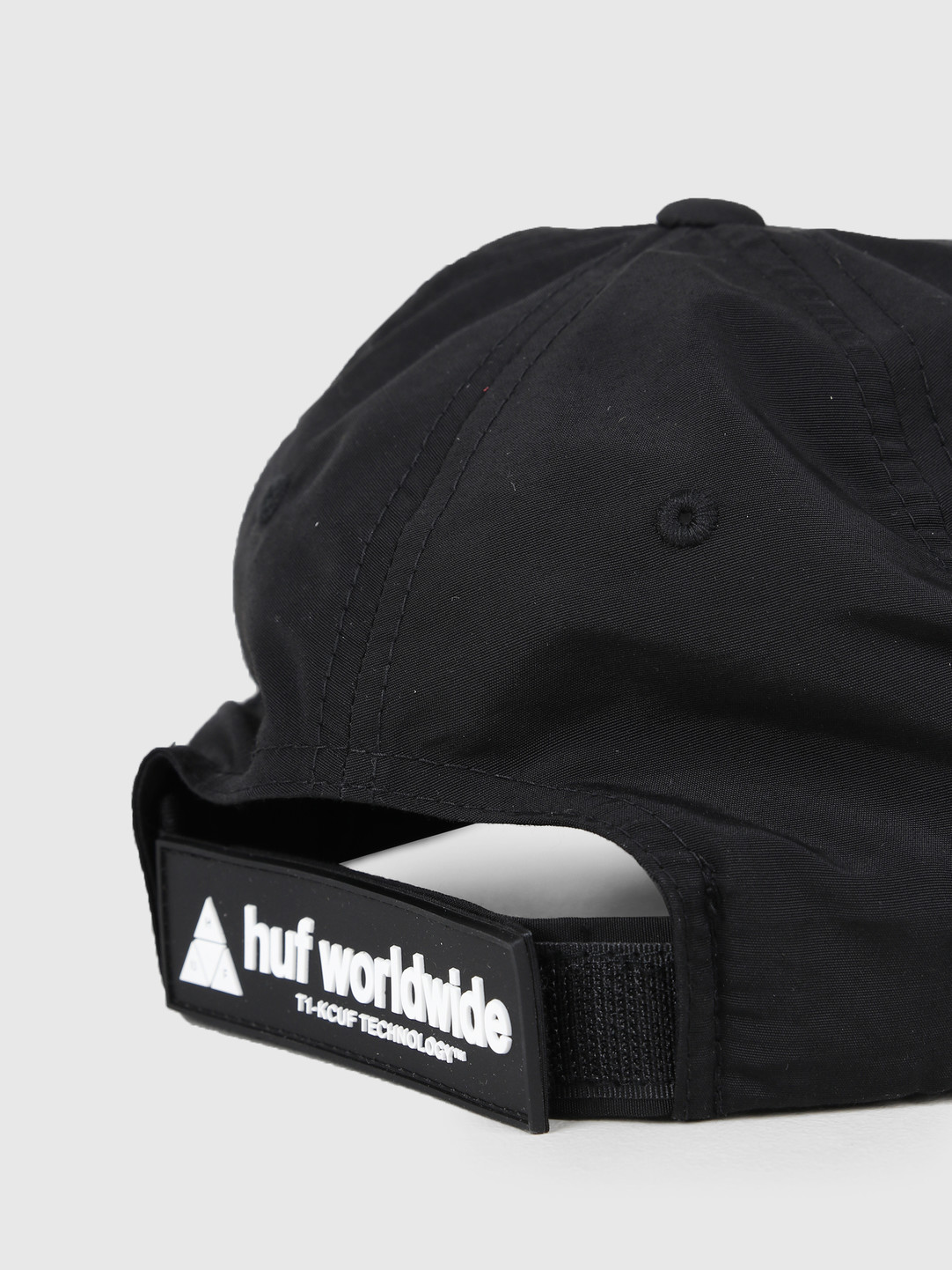 HUF HUF Aurora Cv 6 Panel Hat Black HT00384-BLACK