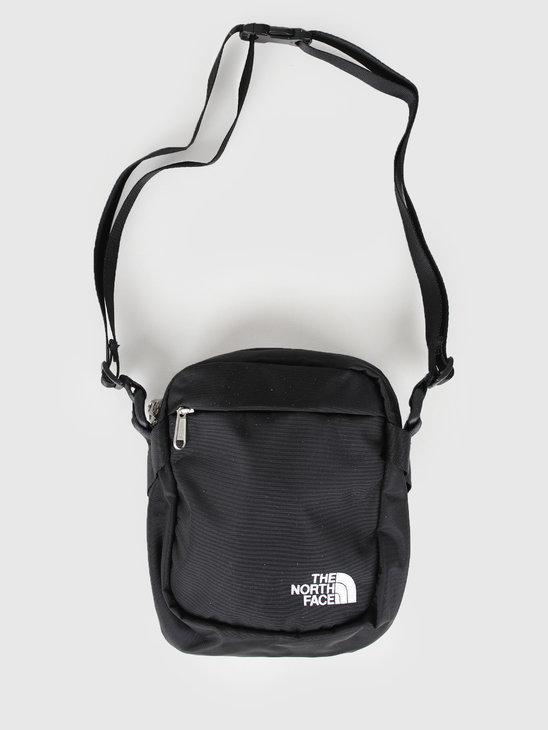 The North Face Convertible Shoulder Bag Black White T93BXBKY4