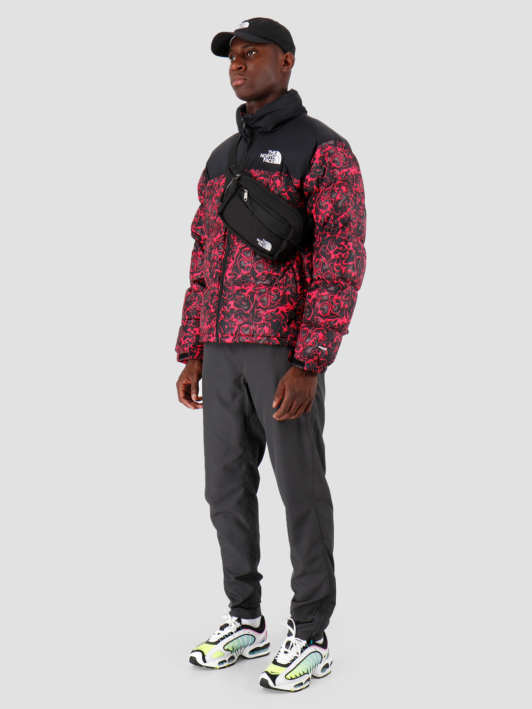 The North Face The North Face 1996 Retro Nuptse Jacket Rose Red 1994 Rage Print T93C8DF26