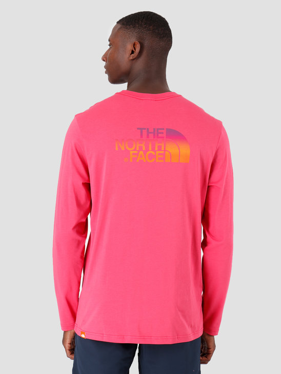 The North Face Longsleeve Easy Bliss Pink T92TX1NS6