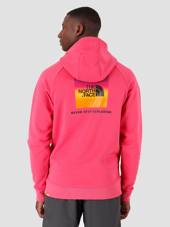The North Face Raglan Redbox Hoodie Bliss Pink Yosemite T92ZWUNS6