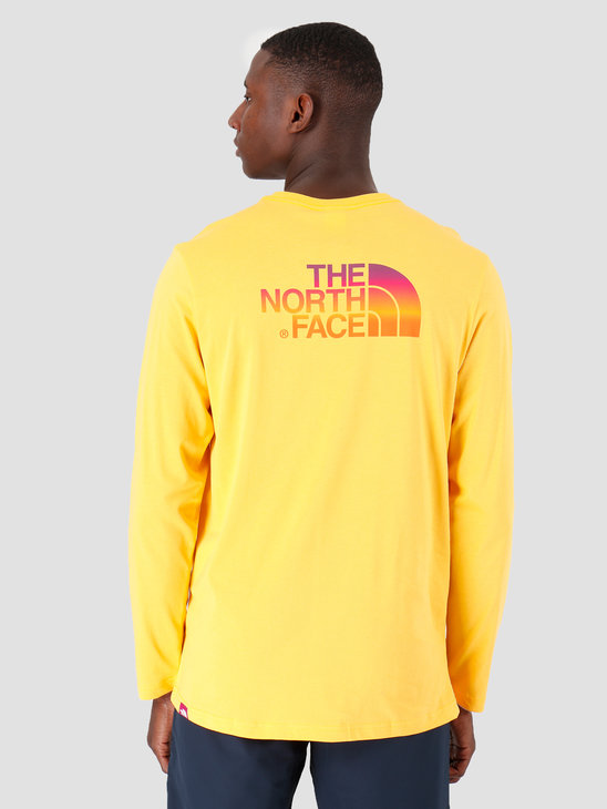 The North Face Longsleeve Easy Citrus Yellow T92TX1706