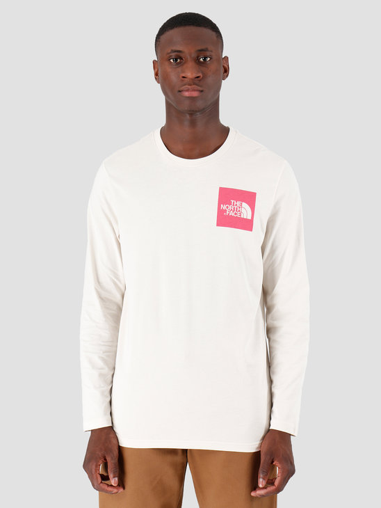 The North Face Longsleeve Fine Vintage Whitebliss Pink T937FTNSL