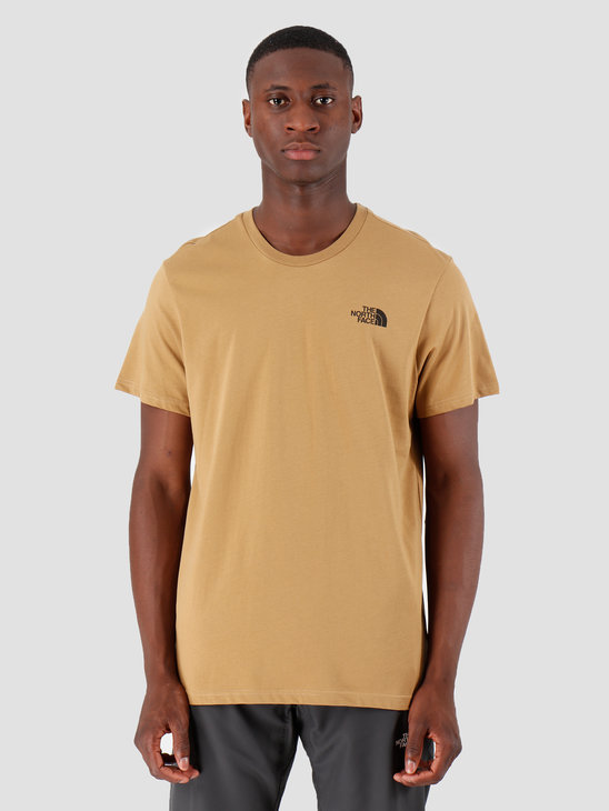 The North Face T-Shirt Simple Dome British Khaki T92TX5D9V