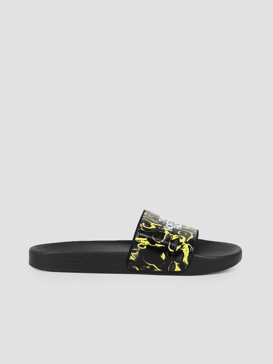 The North Face Base Camp Slide II Black Leopard Yellow T93FWOH22