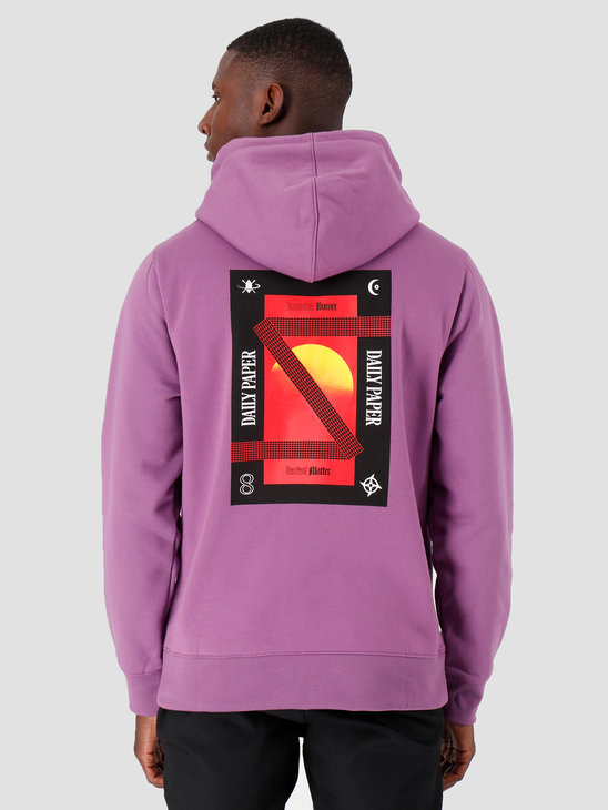 Daily Paper Gacrush Hoodie Crushed Grape Purple 19F1HD03-01