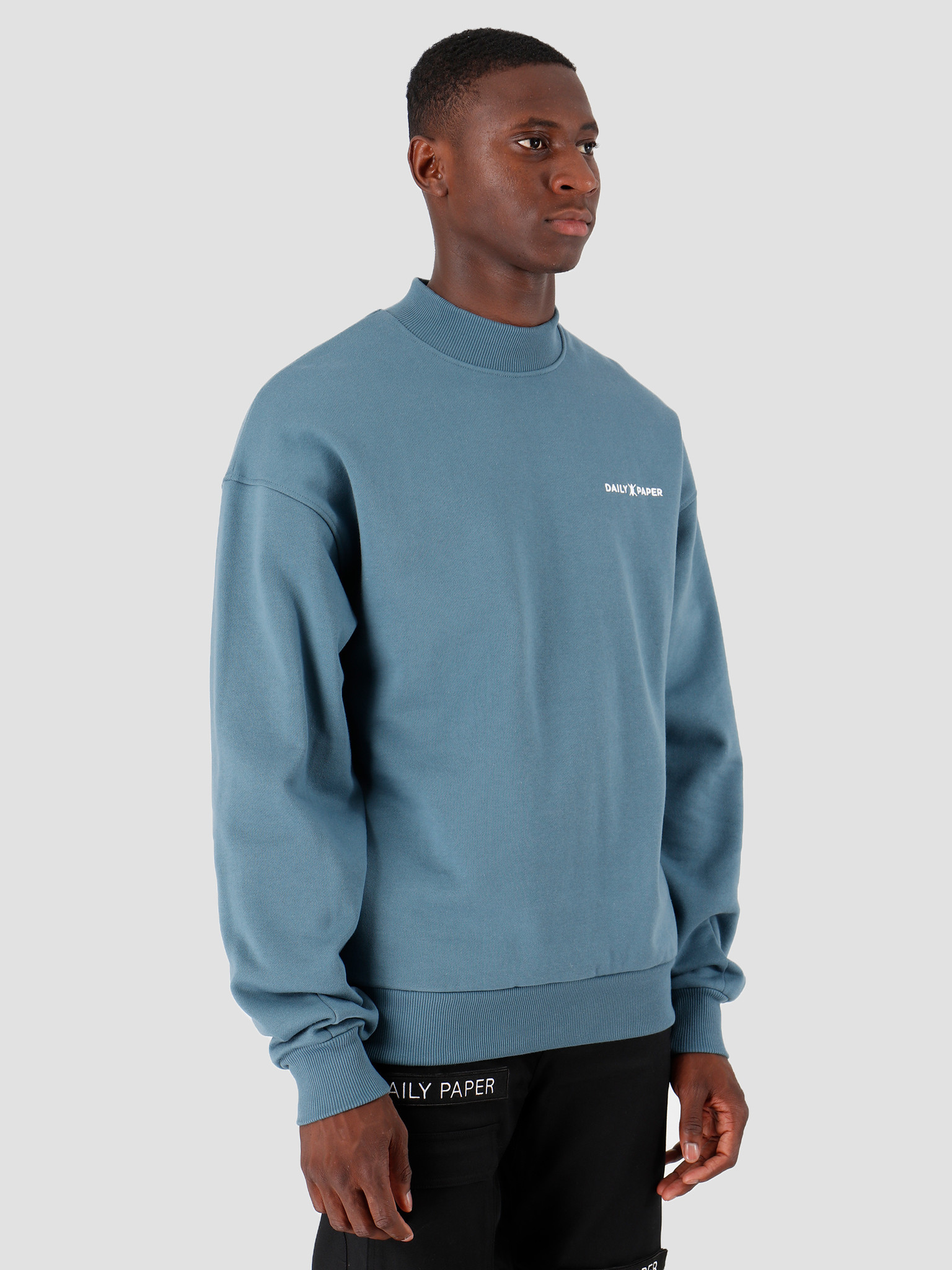 Daily Paper Daily Paper Aba Sweater Real Teal 19E1SW02-03