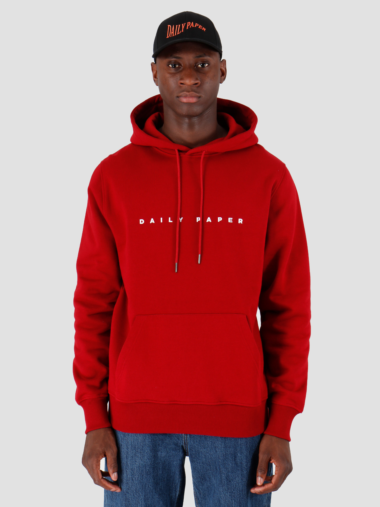 Daily Paper Daily Paper Alias Hoodie Rio Red 19E1HD02-02