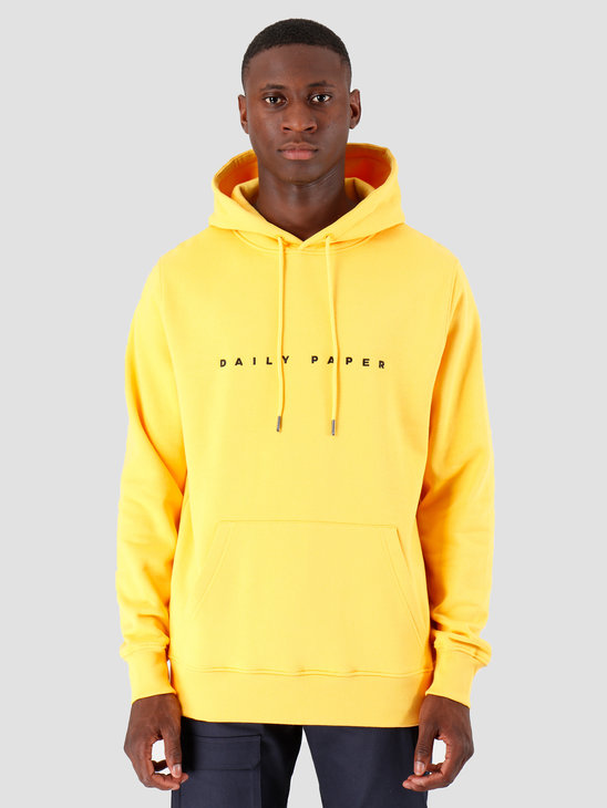 Daily Paper Alias Hoodie Yellow 19E1HD02-03