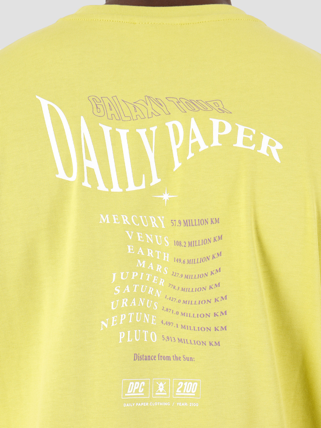 Daily Paper Daily Paper Gorsulp T-Shirt Sulphur Spring 19F1TS10-01