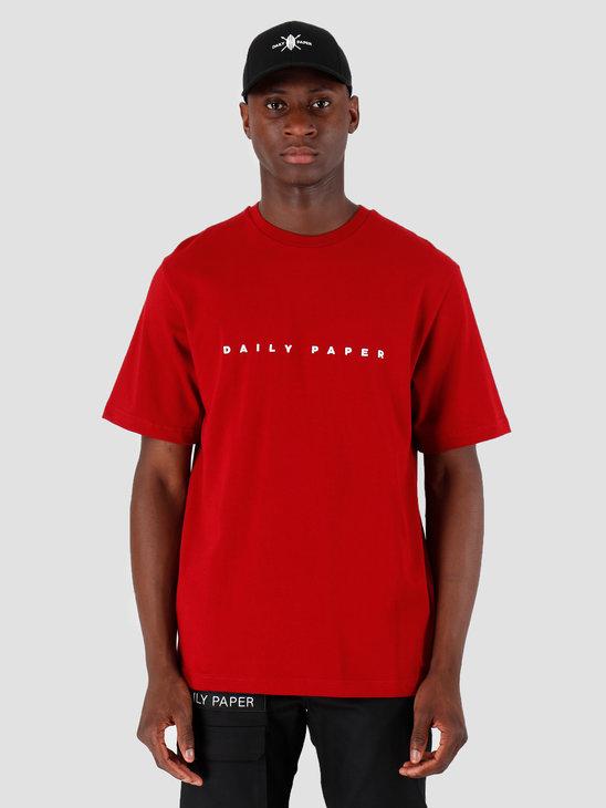 Daily Paper Alias T-shirt Rio Red 19E1TS02-04
