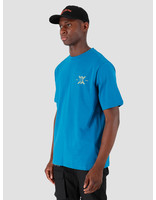 Daily Paper Daily Paper Gormy T-Shirt Mykonos Blue 19F1TS07-01