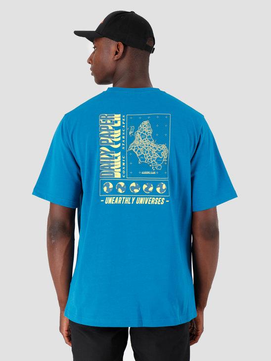 Daily Paper Gormy T-Shirt Mykonos Blue 19F1TS07-01