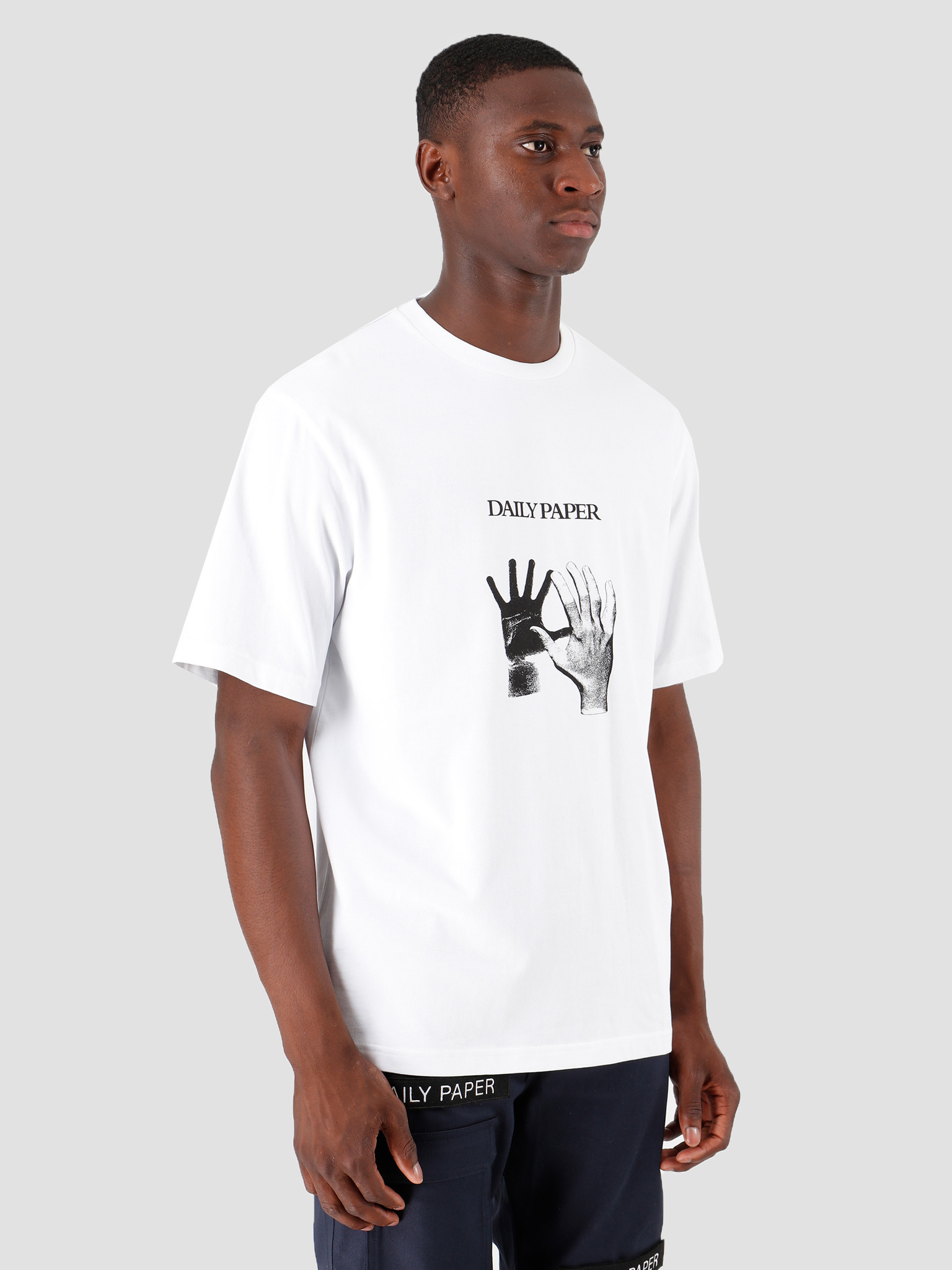 Daily Paper Daily Paper Gorhand T-Shirt White 19F1TS26-02