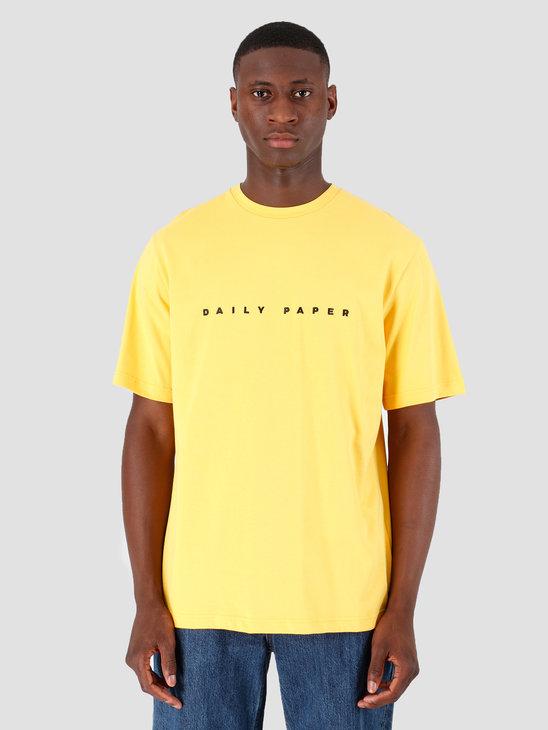 Daily Paper Alias T-shirt Yellow 19E1TS02-03