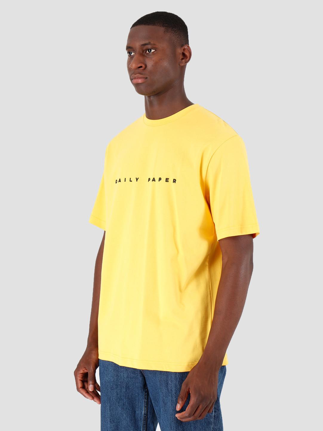Daily Paper Daily Paper Alias T-shirt Yellow 19E1TS02-03