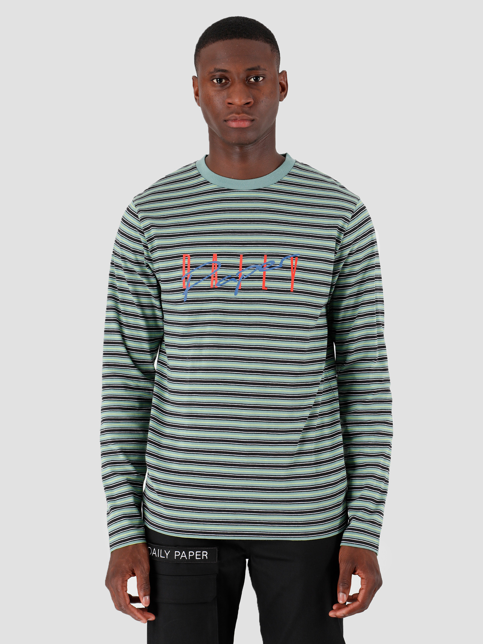 Daily Paper Daily Paper Gaso Longsleeve Bristol Blue 19F1LS01-01
