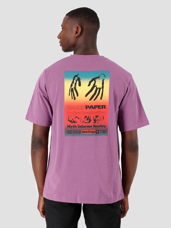 Daily Paper Gencrush T-Shirt Crushed Grape 19F1TS15-01