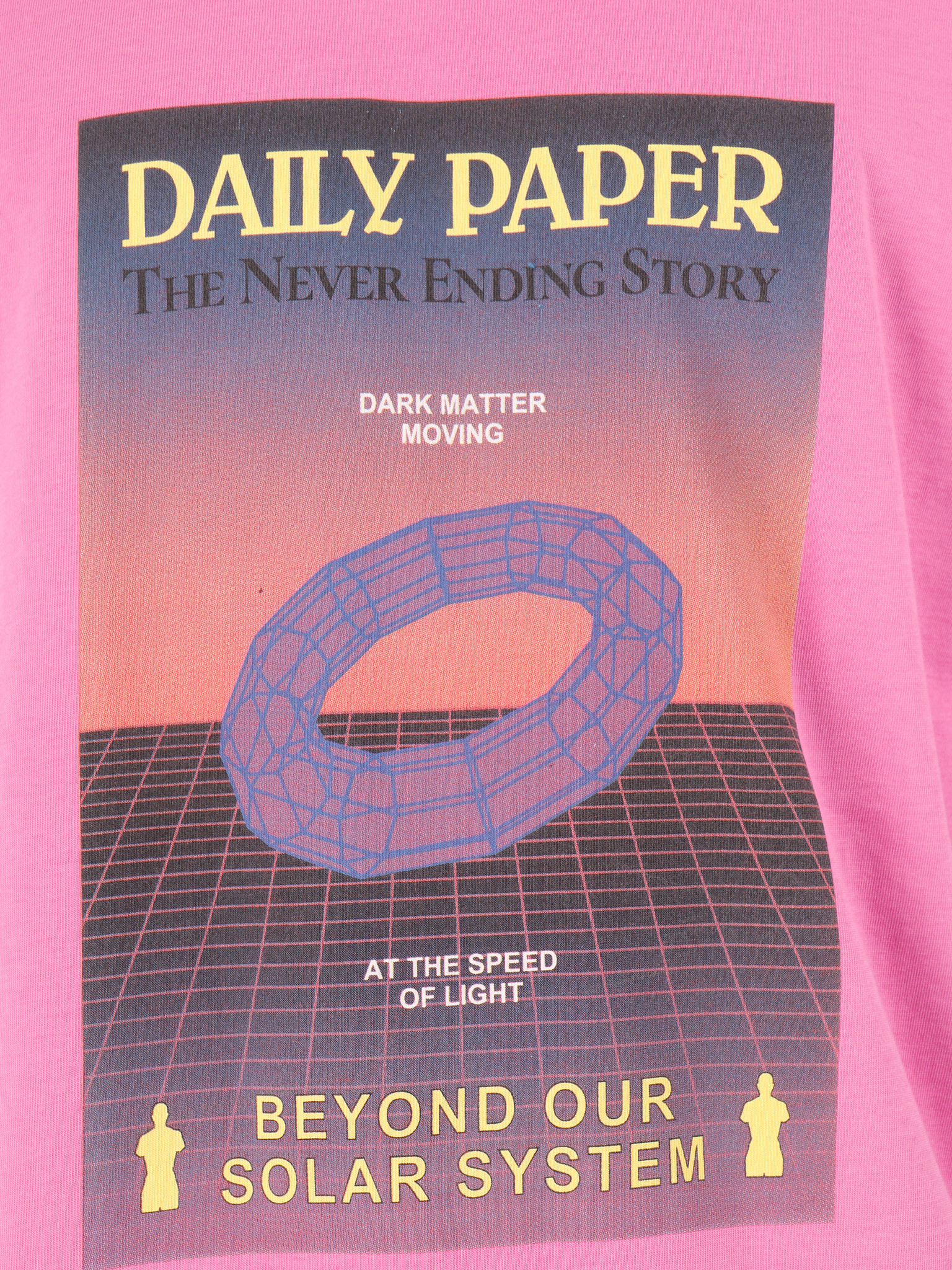 Daily Paper Daily Paper Gensupi T-Shirt Super Pink 19F1TS23-01