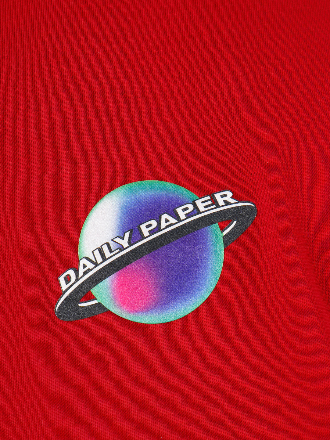 Daily Paper Daily Paper Genrio T-Shirt Rio Red 19F1TS21-01