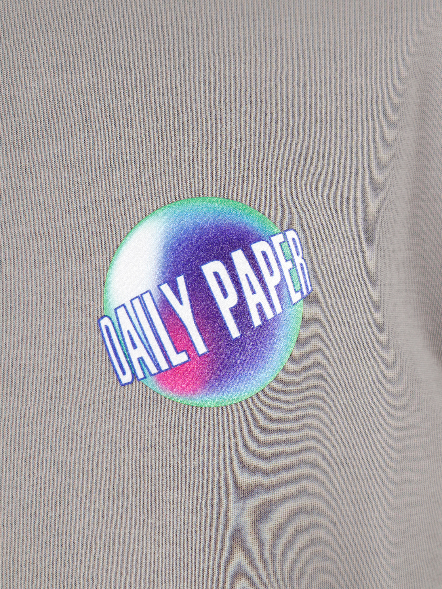 Daily Paper Daily Paper Gengra T-Shirt Grey Flannel 19F1TS18-01