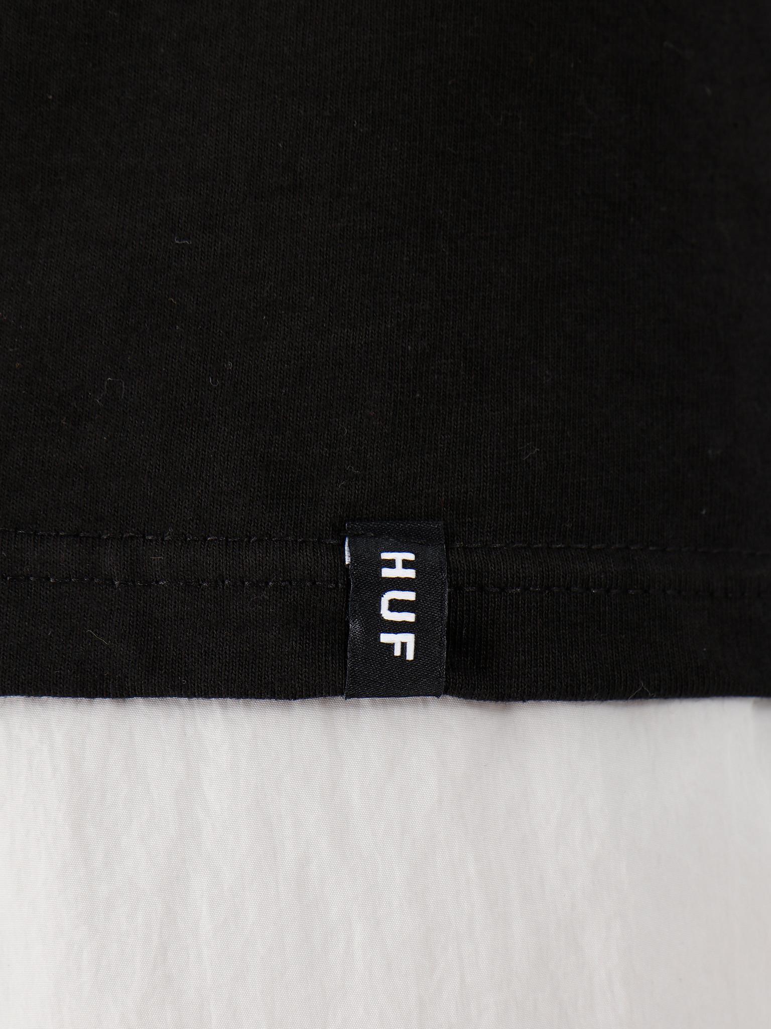 HUF HUF World Tour Longsleeve T-Shirt Black TS00785-BLACK