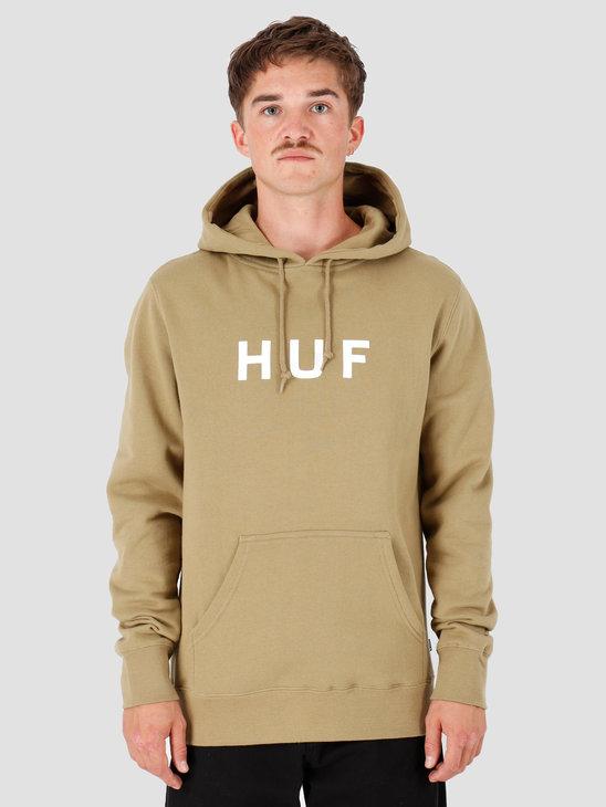 HUF Essentials OG Logo Hoodie Dried Herb PF00099-DDHRB