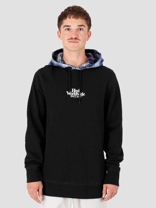 HUF Vicious Hoodie Black FL00085-BLACK
