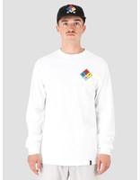 HUF HUF Hazard Longsleeve T-Shirt White TS00873-WHITE