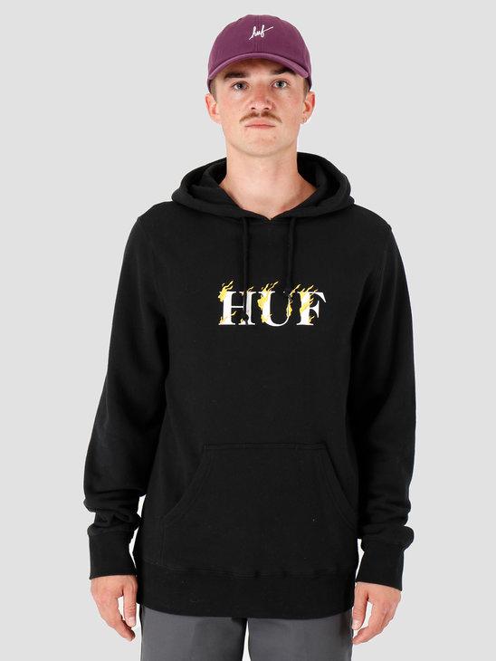 HUF Phoenix Hoodie Black PF00228
